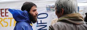 Der verzweifelte Kampf um Asyl in München: Die Geschichte des Messengers