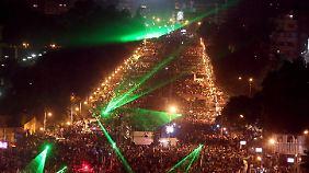 """Mursi-Rede in Ägypten: """"Preis der Rechtmäßigkeit ist mein Leben"""""""