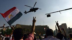 Mahnende Worte aus dem Ausland: Ägyptens Militär demonstriert seine Macht