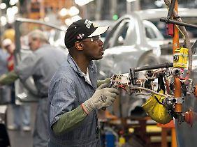 Montage bei General Motors.