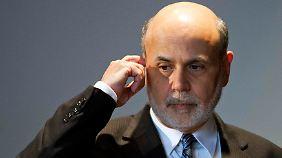 US-Leitzins weiterhin niedrig: Bernanke rudert zurück