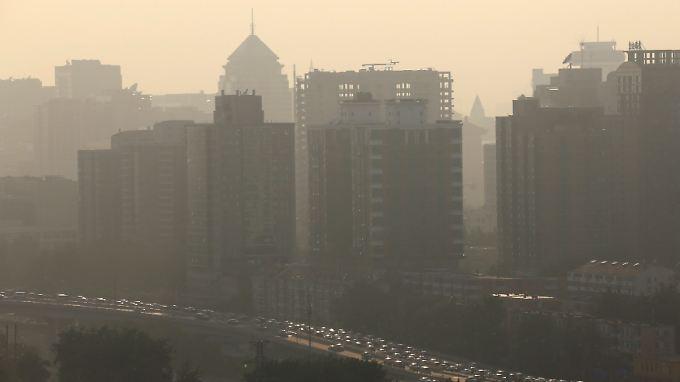 Am schlimmsten ist die Luft in chinesischen Großstädten wie Peking.