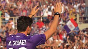 Neue Fußballheimat für den Nationalspieler: Florenz vergöttert Mario Gomez