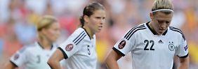 Annike Krahn (l) und Luisa Wensing konnten den Rückstand nicht mehr drehen.
