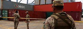 """Schiff mit """"veralteten"""" kubanischen Waffen: Nordkorea fordert sofortige Freigabe"""