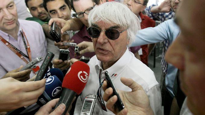 """""""Eines Tages, wenn ich nicht da sein werde, wird eines der größten Probleme sein, dass ich wirklich gute Beziehungen zu den Rennpromotern habe"""": Bernie Ecclestone."""
