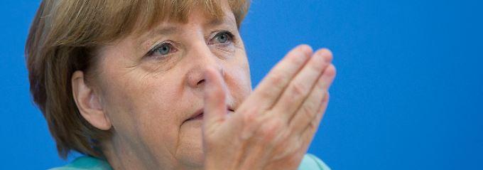 """Merkel: """"Ich sehe nicht, dass der Schuldenschnitt kommt."""""""