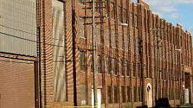 Eine der Lagerhallen in Detroit. (Archivbild)