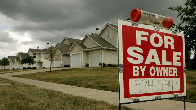 Als die Blase am Immobilienmarkt platzte, gerieten Banken in große Schwierigkeiten.