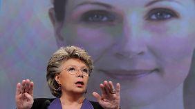 Vergeblicher Kampf für die Quote? EU-Kommissarin Reding will eine feste Quote von 40 Prozent.