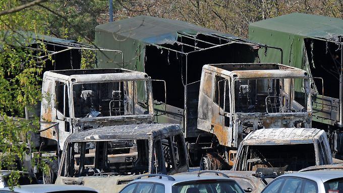 Bei einem Brandanschlag auf die Bundeswehr der Offiziersschule des Heeres in Dresden im April 2009 entstand ein Sachschaden von rund drei Millionen Euro.