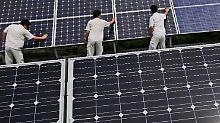 """""""Freibrief"""" für China - EU-Hersteller kündigen Klage an: EU und China finden Solar-Kompromiss"""