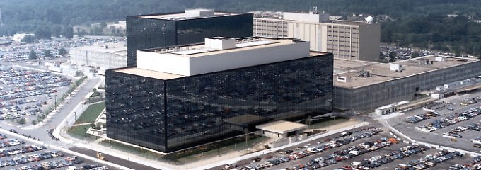 NSA-Hauptquartier in Fort Meade/Maryland.
