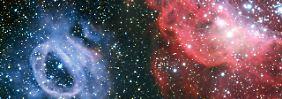 Bunt leuchtende Gaswolken: Eso zeigt bizarre Sternfabrik