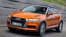... zeitnah mit seinem größeren Bruder Q2, starten.  Der Audi Q2 basiert auf dem A1 Quattro. Spannend ist vor allem das Konzept mit drei Türen. Für den Q2 soll es auch einen extrem sparsamen  1,4-Liter-Diesel geben.