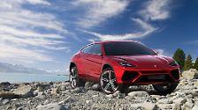 Der Lamborghini Urus feierte sein Debüt  auf der Automesse in Peking. Dort wollen die Italiener auch einen erklecklichen Teil der Produktion absetzen, wenn der Allradler in vier Jahren in Serie geht.