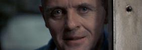 """Dem Faszinierenden an Psychopathen gab Anthony Hopkins in """"Das Schweigen der Lämmer"""" ein Gesicht."""
