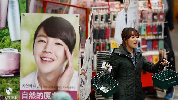 Die Produkte der südkoreanischen Kosmetikunternehmen sind kostengünstig und erfreuen sich auch deshalb einer wachsenden Beliebtheit.