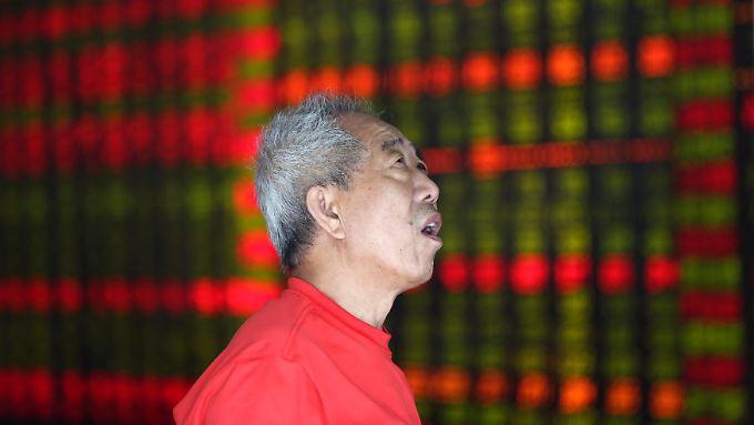 Das gibt es doch gar nicht: Ungläubige Blicke eines Investors wegen der Blitzrally bei Everbright