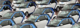 Leihen ist billiger als kaufen: Carsharing verzeichnet hohe Gewinne