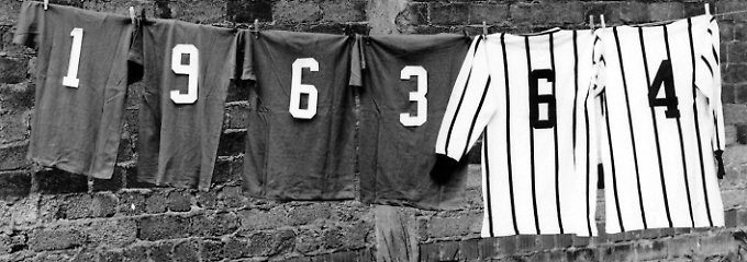 Es geht los: Vor 50 Jahren ertönte der Anpfiff zum ersten Spieltag der Fußball-Bundesliga.