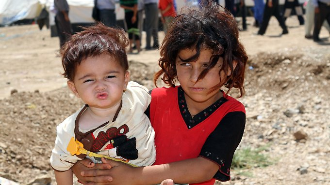 Kinder leiden besonders unter dem Bürgerkrieg in Syrien.