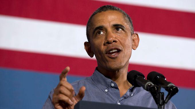 Obama will eine Entscheidung zusammen