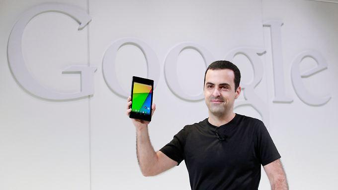 Die Präsentation des neuen Nexus 7 war die letzte Google-Show für Android-Produktmanager Hugo Barra.