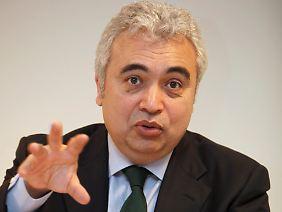 Chefvolkswirt der Internationalen Energieagentur: Fatih Birol.