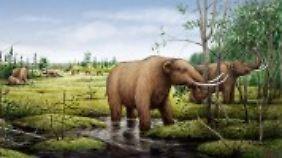 In der Jüngeren Dryaszeit starben viele Großsäuger aus.