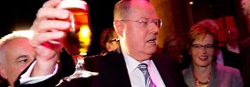 Für viele Beobachter war SPD-Kanzlerkandidat Peer Steinbrück der Sieger des TV-Duells.