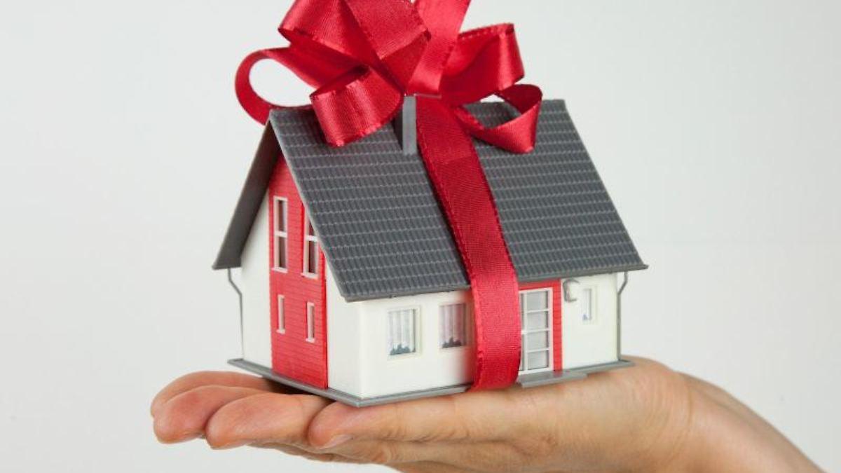So Immobilien steuerfrei verschenken