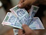 Indien sorgt sich um seine Währung.