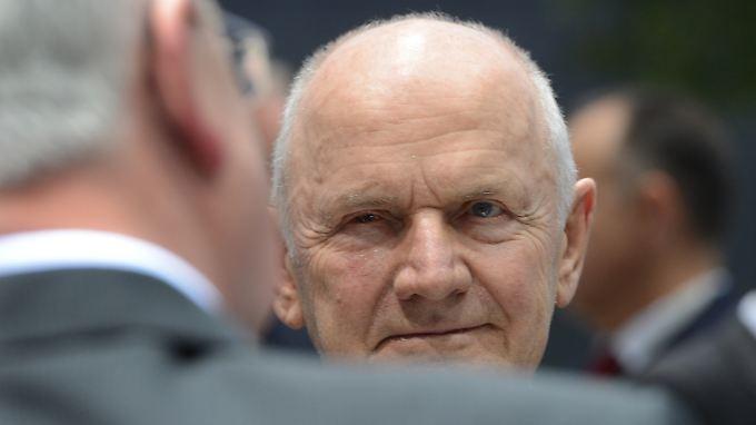 Ferdinand Piech: Der 76-jährigen gebürtige Österreicher und Oberaufseher des Volkswagen-Konzerns will angeblich von seinem Amt zurücktreten.