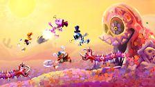 Rayman Legends ist Jump'n'Run in Bestform: Knallbunte Hüpforgie bei der Zauberkröte