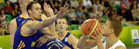 Zweite Pleite im dritten EM-Spiel: Basketballer verlieren und zittern