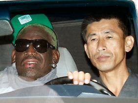 Wird Dennis Rodman bald Nordkoreas Ehrenbürger?