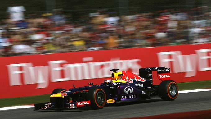 Im Training schnell, im Qualifying auch: Der beste Startplatz in Monza gehört Weltmeister Sebastian Vettel.