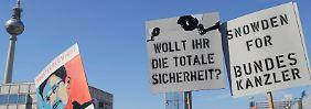 """""""Freiheit statt Angst"""": Überwachungsgegner demonstrieren"""