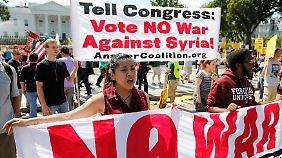 Gegenwind für Obama: Mehrheit der US-Amerikaner ist gegen Militäreinsatz in Syrien