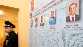 Putin-Gegener gegen Kreml-Kandidat: Bürgermeister-Wahl in Moskau sorgt für Spannung