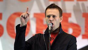 Verlorene Bürgermeisterwahl in Moskau: Nawalny spricht von Fälschung