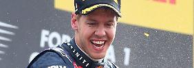 """""""Wenn man zu weit in die Ferne schaut, kann man das aktuell Schöne vielleicht nicht so genießen"""": Sebastian Vettel."""