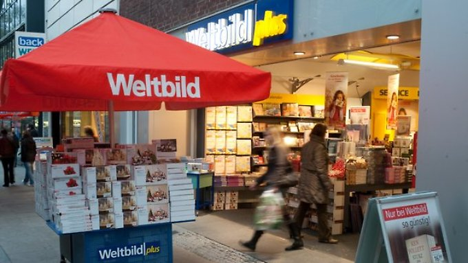 Der Weltbild-Verlag befindet sich im Umbau.