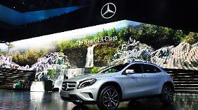 Daimler folgt dem Trend: GLA soll den Verkauf kräftig ankurbeln