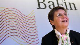 BaFin-Chefin Elke König lehnt EU-Abwicklungspläne für Banken ab.