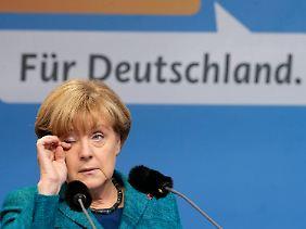 Braucht die Liberalen nicht: Angela Merkel.