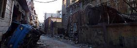 Schon jetzt ist Syrien ein weitgehend zerstörtes Land.