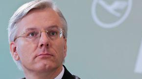 Lufthansa-Chef geht definitiv: Franz zieht es in die Schweiz