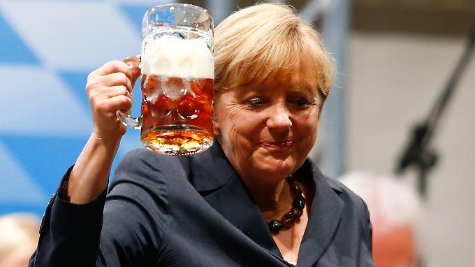 Landtagswahl in Bayern: für die Kanzlerin Merkel Wahlsieg mit bitterem Beigeschmack.